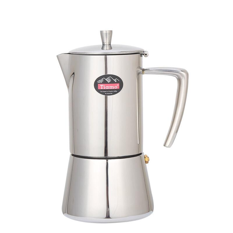 Cafetière italienne <br> Inox 4 personnes | Inox Ecologie