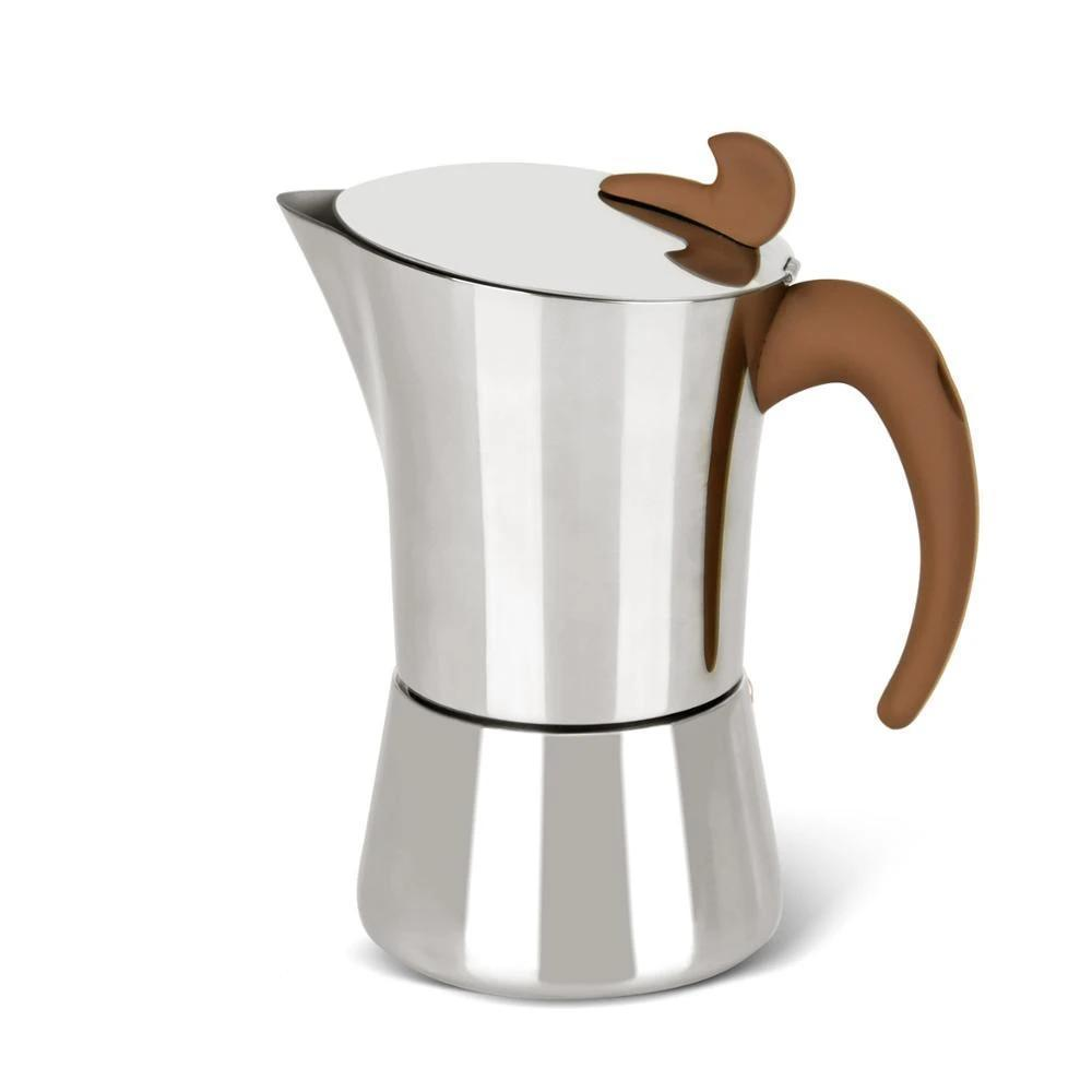 Cafetière italienne <br> Inox 8 personnes | Inox Ecologie