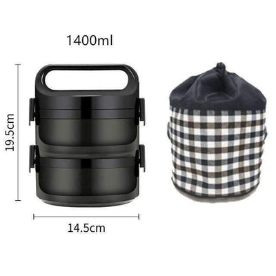 Lunch box chauffant 1400 ml