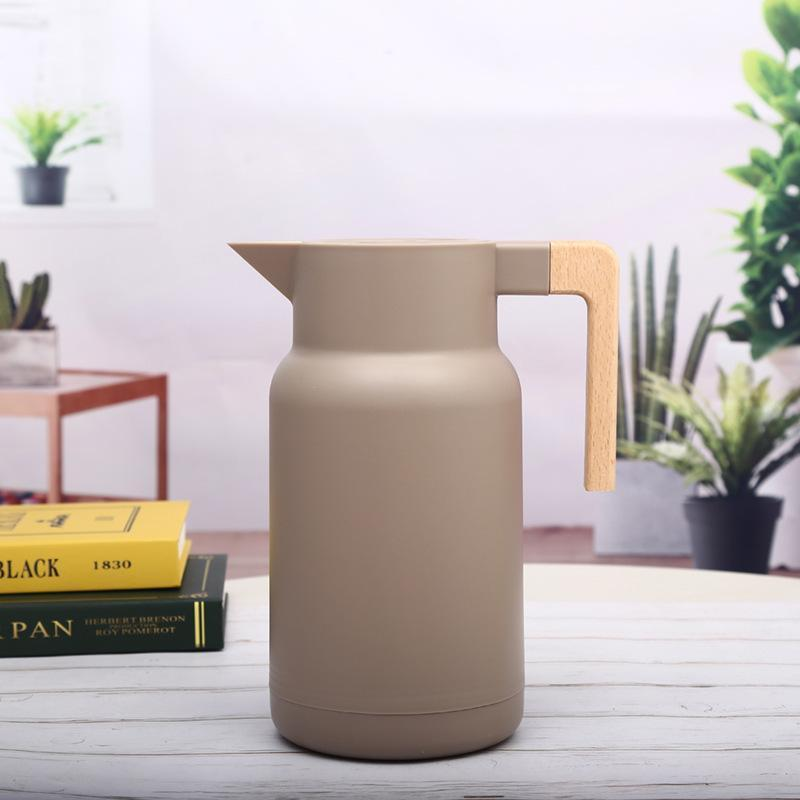 Thermos isotherme <br> 1 Litre Beige | Inox Ecologie