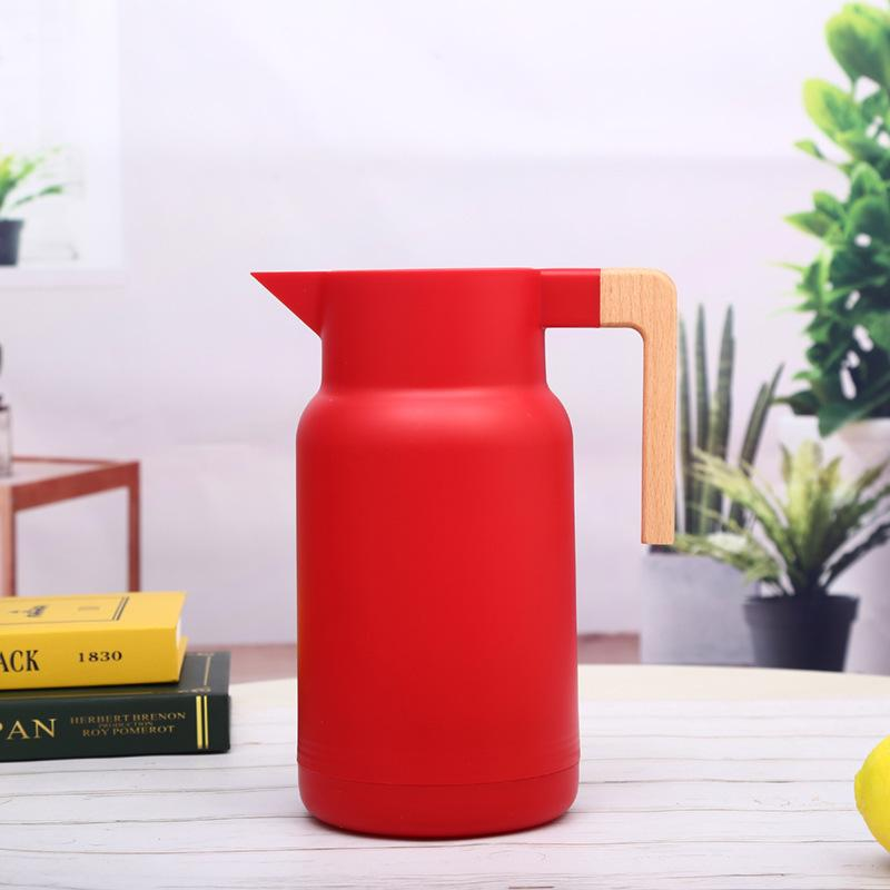 Thermos isotherme <br> 1000 Ml Rouge | Inox Ecologie