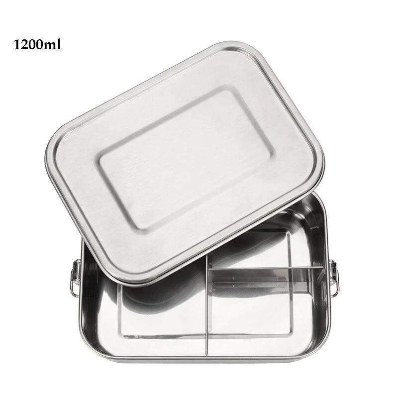 Tupperware inox  1200 ml 3 compartiments