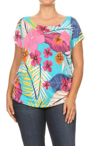 PL Tropical Printed Tunic