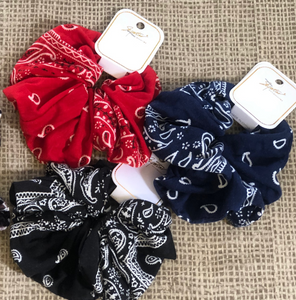 Big Bandana Scrunchie