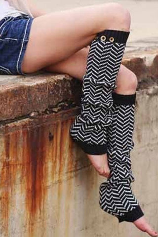 Chevron Leg Warmers