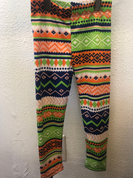 Kid Bold Pattern Leggings