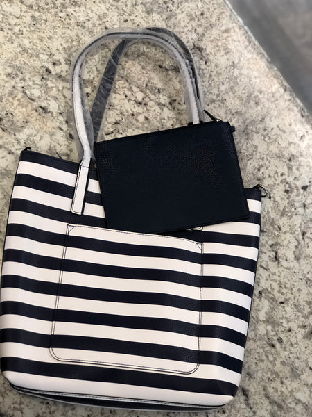 Nadine Reversible Tote with Pocket Bag