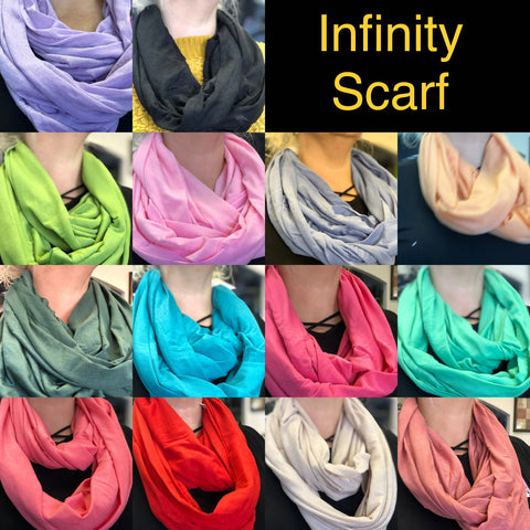 Colored Infinity Scarf