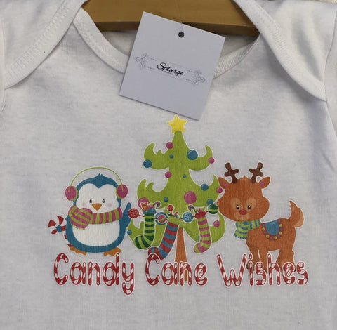 Infant Candy Cane Onsie