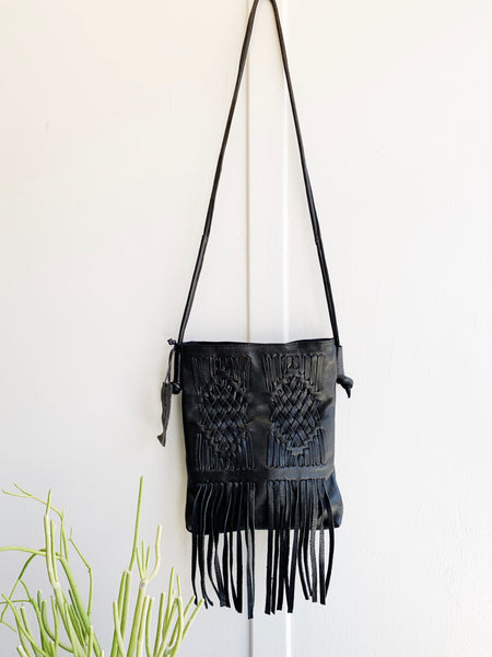 Cut n' Paste Harper Fringe Crossbody