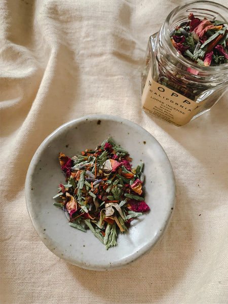 Poppy California Loose Incense Blend