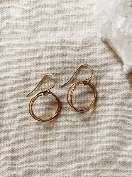 Rebecca Scott: Circle Earrings (Small)