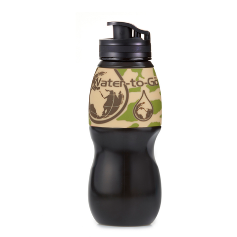 Water To Go, Portable Water Purifying Bottle - 750ml
