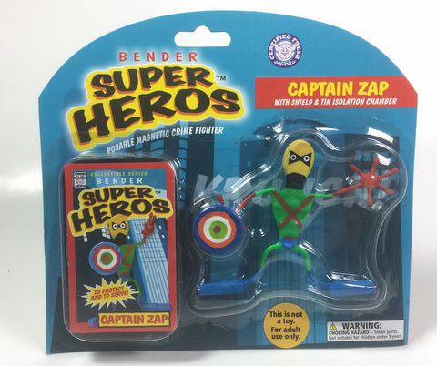 Captain Zap with Shield Bender