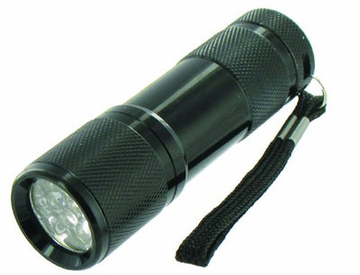 Highlander Cobra Ultra Bright LED Torch - Black