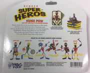 Hog Wild Super Hero Benders - Kung Pow With Chopstick Pole (20500)
