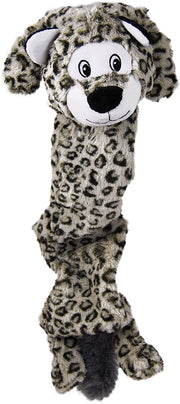 Kong Dog ToySnow Leopard Stretchezz