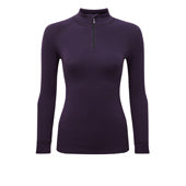 Steiner Ladies Soft-Tec Long Sleeve Half Zip Thermal Vest Top