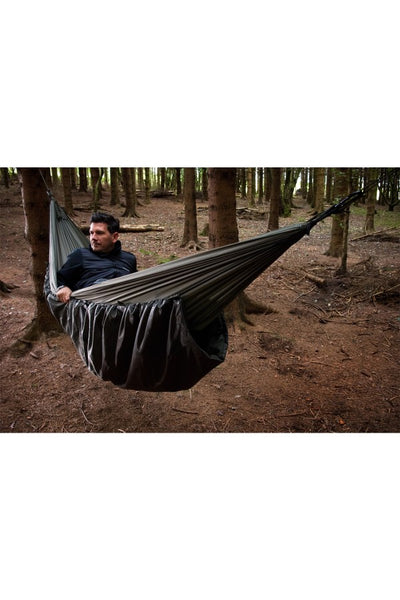 Hammock Under Blanket
