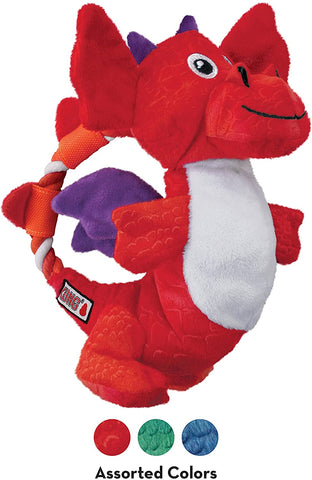 kong dragon knot dog toy