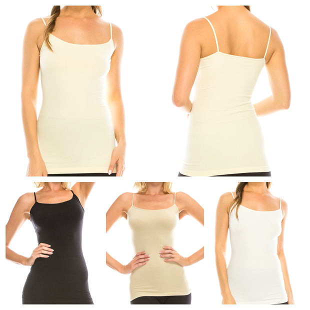 Basic Seamless Camisole         Multiple Colors