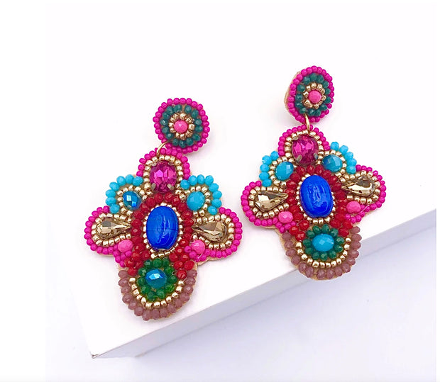 Fanny Multi Color Earring