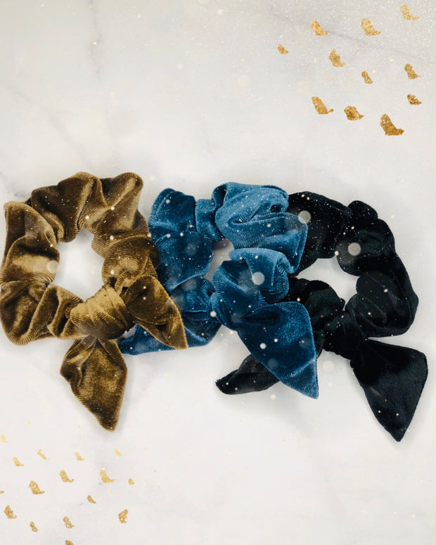 Single Velvet Scrunchies