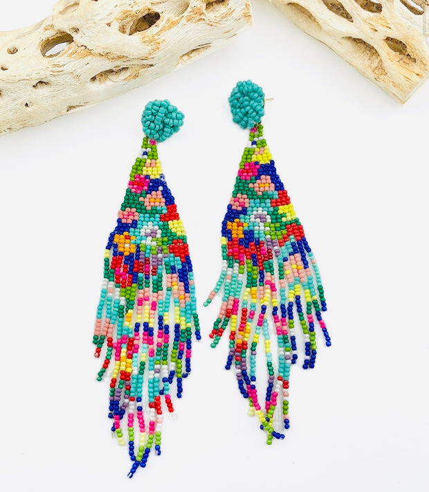Treasure Jewels  Tapestry Multi Earring