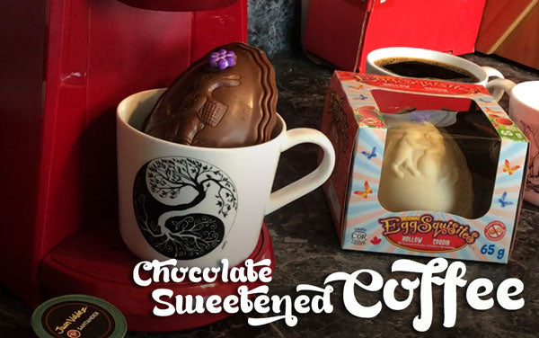 Put your Easter Chocolate in your Coffee!