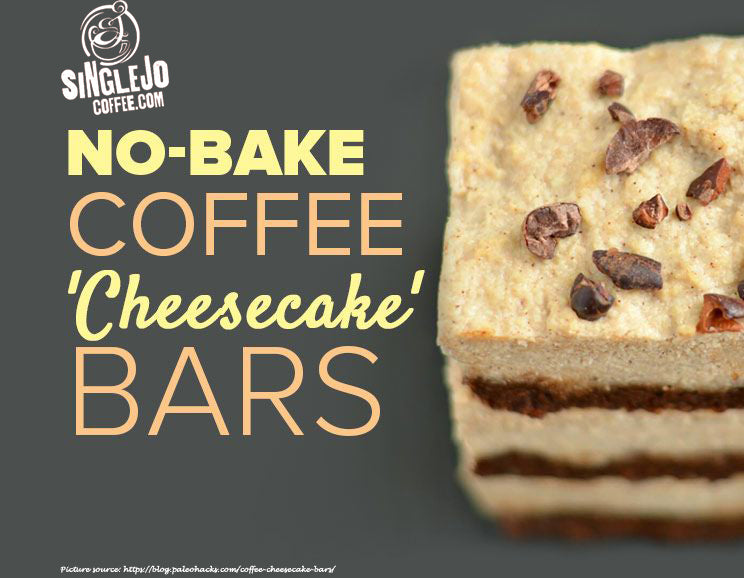 No-Bake Coffee 'Cheesecake' Bars