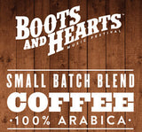 Boots and Hearts music festival coffee label