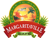 Margaritaville cafe coffee logo