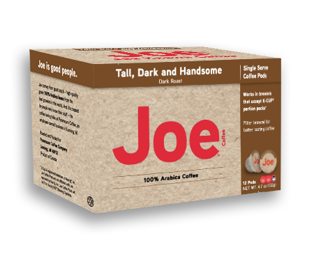 Joe Coffee | Tall Dark & Handsome | K-Cup Keurig Compatible Coffee