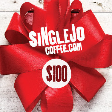SingleJo Coffee Gift Cards