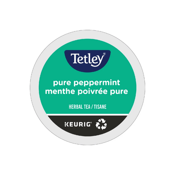 Tetley Pure Peppermint Tea K-cup