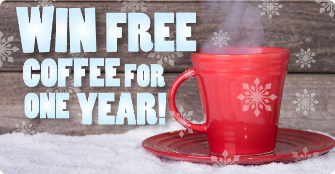 Win free coffee for one year