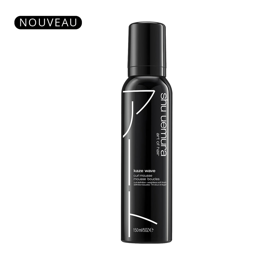 Mousse Kaze Wave 150ml  - Shu Uemura art of hair
