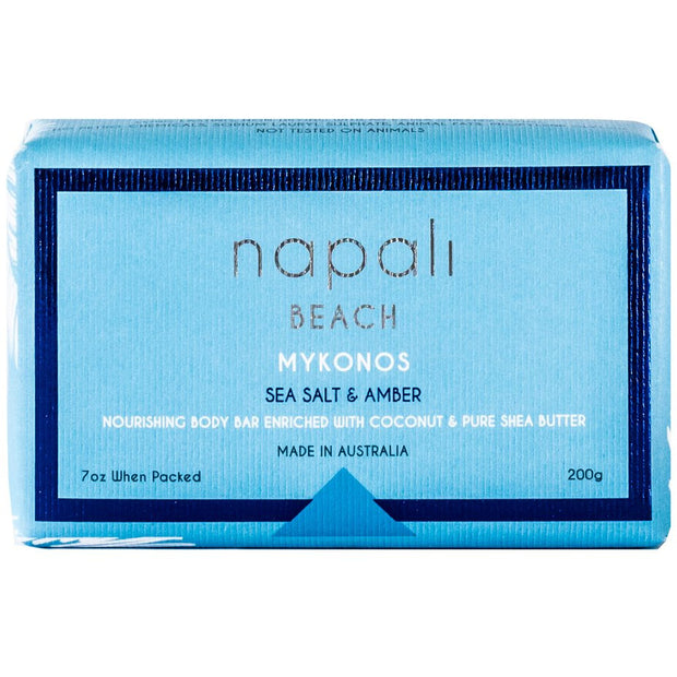 Napali Beach - Mykonos - Sea Salt & Amber Soap 1 Pk