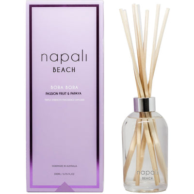 Napali Beach - Bora Bora - Passion Fruit & Papaya Reed Diffuser
