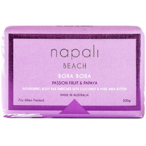 Napali Beach - Bora Bora - Passion Fruit & Papaya Soap 1 Pk