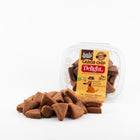 Peanut Butter & Carob Dog Biscuits
