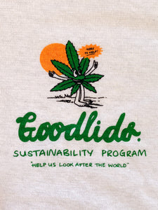 Sustainability Program Vintage Tee - Natural - Goodlids
