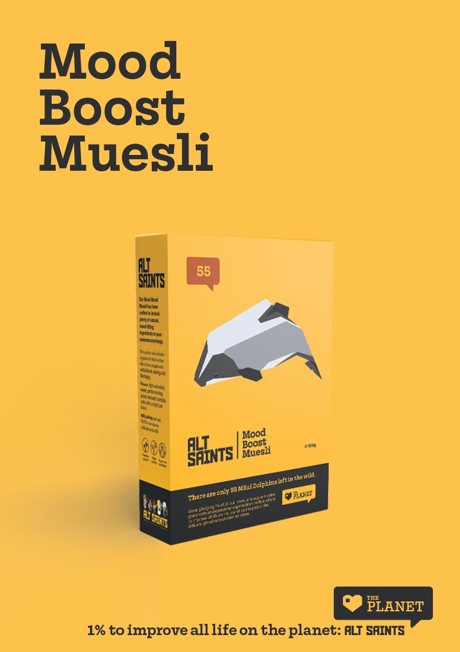 Mood Boost Muesli - all new