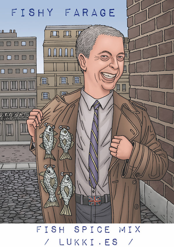 Fishy Farage | Fish spice mix