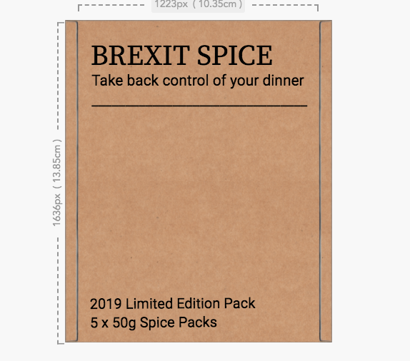 #BrexitSpice | 2019 Limited Edition
