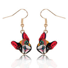 Load image into Gallery viewer, Buldog Earrings