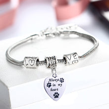 "Load image into Gallery viewer, ""Always In My Heart"" Bracelet"