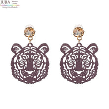 Load image into Gallery viewer, Tiger Earrings