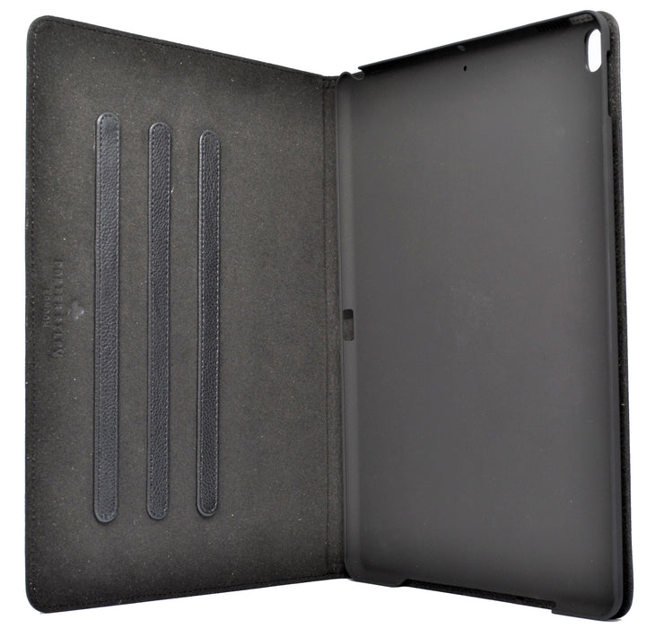 "iPad 10.2"" 7th/8th Generation Leather Case. Premium Genuine Leather Stand/Cover/Flip Case (Black)"
