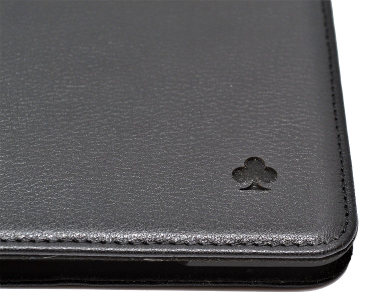 "iPad Pro 11"" 2018 Release Leather Case. Premium Genuine Leather Stand/Cover/Flip Case (Black)"